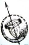 ロールレタリング 2008-a circle