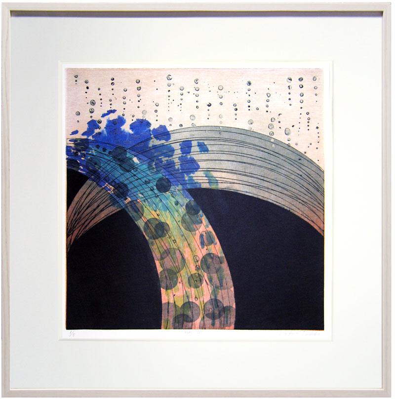 高倉直子:瞬III (500 x 500 mm) Ed5 銅版・木版